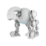 Wired futuristic robotic creature Royalty Free Stock Images