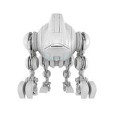 Wired futuristic robotic creature Royalty Free Stock Image