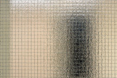 Wired glass texture. A frosted wire glass to give an interesting shadow and texture Royalty Free Stock Image