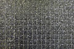 Wired glass to use as background or structure. Also an example for glass produced by industry royalty free stock images