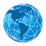 Wired Globe Stock Images
