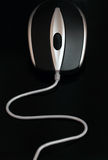 Wired mouse Stock Photo