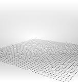 Wireframe地区滤网多角形表面 免版税库存图片