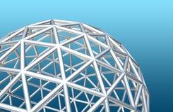 wireframe глобуса Стоковая Фотография RF