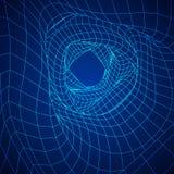 Wireframe滤网有机管 免版税图库摄影