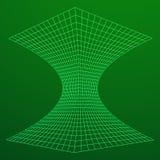 Wireframe滤网漏斗 免版税图库摄影