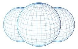 wireframe vektor illustrationer