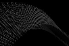 Wireframe astratto Fotografia Stock Libera da Diritti