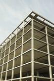 Wireframe byggnad Arkivbild