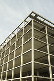 Wireframe-Gebäude Stockfotografie