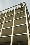 Wireframe-Gebäude Lizenzfreie Stockbilder