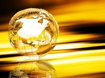 Wireframe globe Royalty Free Stock Image