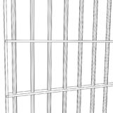 Wireframe prison bars Royalty Free Stock Image