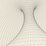 Wireframe torus with connected lines and dots . Mesh polygonal element. Vector Illustration EPS10. Wireframe mesh polygonal element. Torus with connected lines vector illustration