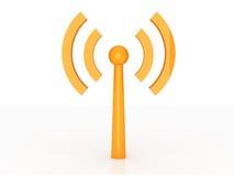 Wireless Antenna stock illustration