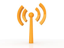 Wireless Antenna Royalty Free Stock Photo