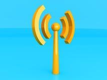 Wireless Antenna Royalty Free Stock Photo