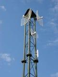 Wireless Antennas Stock Photo