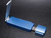 Wireless Bluetooth Adapter Royalty Free Stock Photos