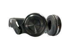 Wireless Bluetooth headphone Royalty Free Stock Photos