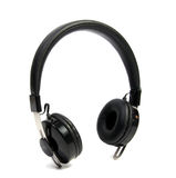 Wireless bluetooth headphone or earphone isolated. On white background Royalty Free Stock Images