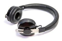 Wireless bluetooth headphone or earphone isolated on white background.. Wireless bluetooth headphone or earphone isolated on white background Royalty Free Stock Images