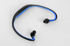 Wireless bluetooth stylish headphones Royalty Free Stock Photos