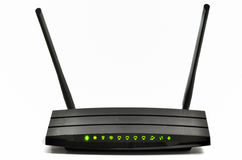 Wireless  broadband router Royalty Free Stock Photos