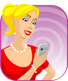 Wireless communication royalty free illustration