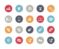 Wireless Communications Icons // Classics Series Royalty Free Stock Photos