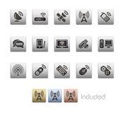 Wireless & Communications// Metallic Series Stock Images