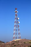 Wireless communications tower Stock Photos
