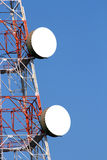 Wireless communications tower Royalty Free Stock Image