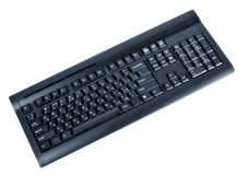 Wireless computer keyboard Royalty Free Stock Images