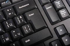Wireless computer keyboard Stock Image