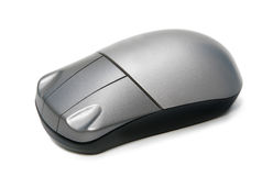 Wireless computer mouse Royalty Free Stock Photos