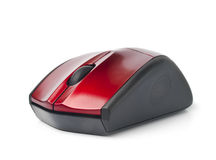 Wireless computer mouse. On a white background royalty free stock images