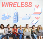 Wireless Connection Internet Modem Network Concept Royalty Free Stock Image