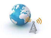 Wireless connection Royalty Free Stock Photography