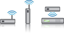 Wireless devices Royalty Free Stock Image