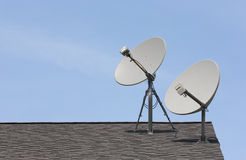Wireless Dishes Royalty Free Stock Image