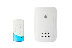 Wireless doorbell system royalty free stock photo