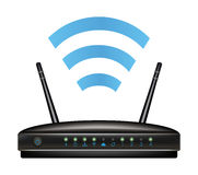 Wireless ethernet modem router Stock Image