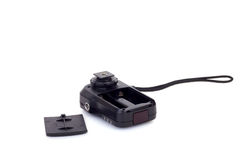 Wireless Flash Trigger, Isolate on white Royalty Free Stock Images