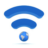 Wireless global technology Stock Photos