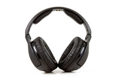 Wireless headphone Stock Images