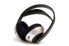 Wireless headphone Royalty Free Stock Photography