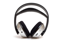 Wireless headphone Royalty Free Stock Images