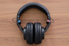 Wireless headphones Royalty Free Stock Image