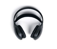 Wireless headphones isolated Royalty Free Stock Photography